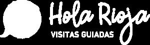 Hola Rioja Logo Blanco