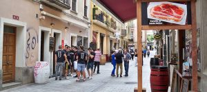 Calle Larurel de Logroño