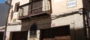 La Reja dorada en Logroño