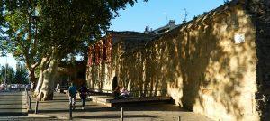 Murallas y Cubo del Revellín en Logroño