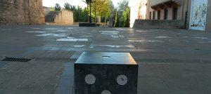 Visitar la plaza del Juego de la Oca en Logroño