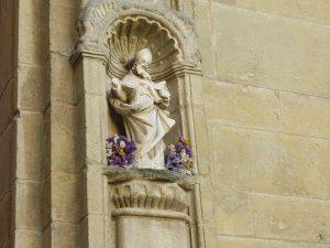 Escultura en el Palacio del Esperatero