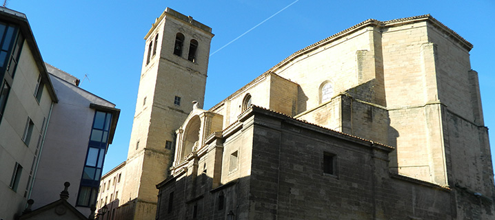 Iglesia de Santiago en Logroño