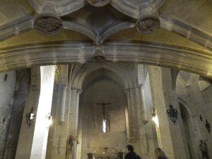 Interior de San Bartolomé