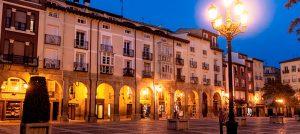 Plaza del Mercado en Logroño