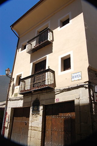 Visitar La Reja Dorada en Logroño